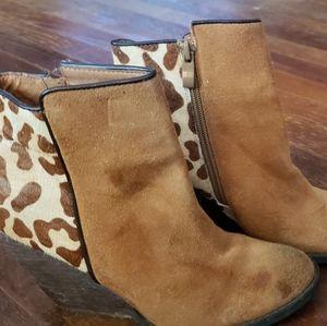 Volitale Leopard Booties